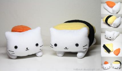 Nyanko Sushi by KelliBean