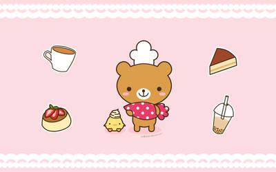 Let's Bake Wallpaper (v2) by KelliBean