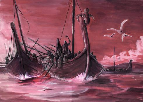 Viking war ship by joaoMachay