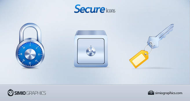 Secure Icons by simiographics