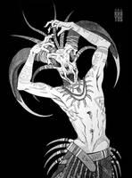 voodoo shaman by Khatos