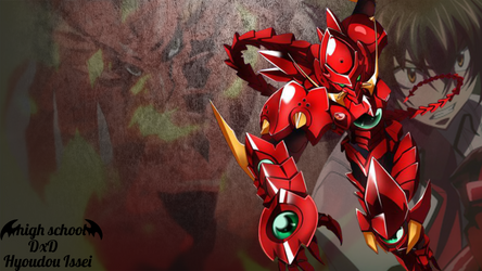 Highschool DxD Background (Hyoudou Issei) by lPhobius