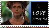 i love Zipacna stamp by ditabarnett