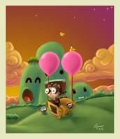.: fly my imagination :. by monito