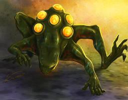 Hell frog by Kuroi-kisin