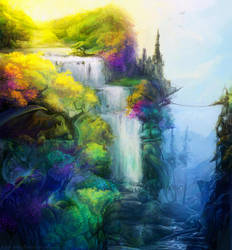Dragon land by Kuroi-kisin