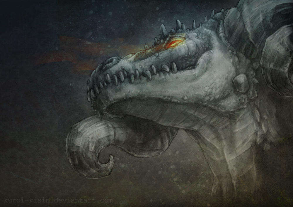 Dragon by Kuroi-kisin