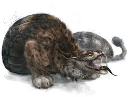 Vipera lynx by Kuroi-kisin