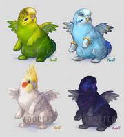 Parrotys (adotaple?) CLOSED by Kuroi-kisin
