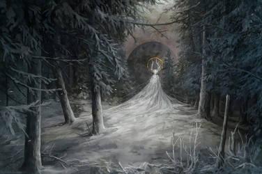 Frosty star by Kuroi-kisin