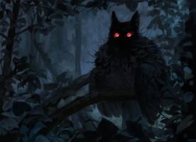 Night demon by Kuroi-kisin