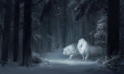 Snow Gods by Kuroi-kisin