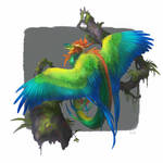 Quetzalcoatl by Kuroi-kisin