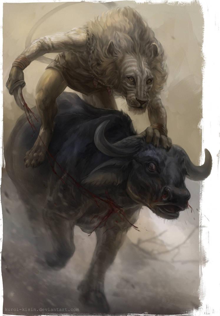 Wild hunter by Kuroi-kisin