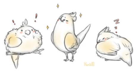 Comm: birb! by Kuroi-kisin