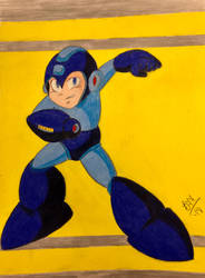 Megaman! by PrincessNadia78
