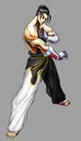 Jin Tekken 5 by sloppey