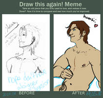 Draw this douchebag again Meme by PataYoh