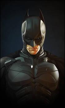 Christian Bale's Batman by TovMauzer
