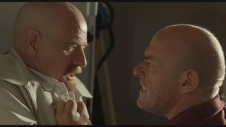 Walter vs Hank by TovMauzer