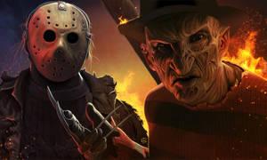 Freddy und Jason by TovMauzer