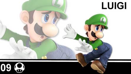 09-Luigi by LuigiKittyKat