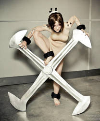 Painwheel Skullgirls 2 by KrisKuz