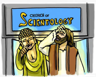 Scientology is funny by humand