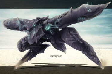 Metal Gear Ray Organic by xericho