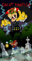 Happy Halloween-Count Koopula by BenjaminTDickens