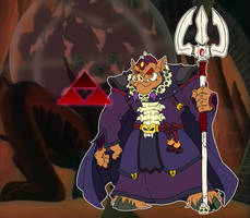 Ganon, DIC Entertainment Style by BenjaminTDickens