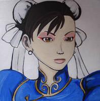 Chun Li Painted by SamiEggPower