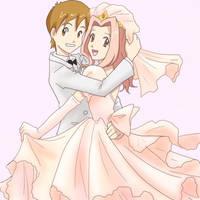 Wedding for tatsunokoisthebest by taichikun14