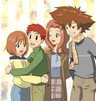 Rita, Izzy, Mimi, Tai for lovelychu by taichikun14