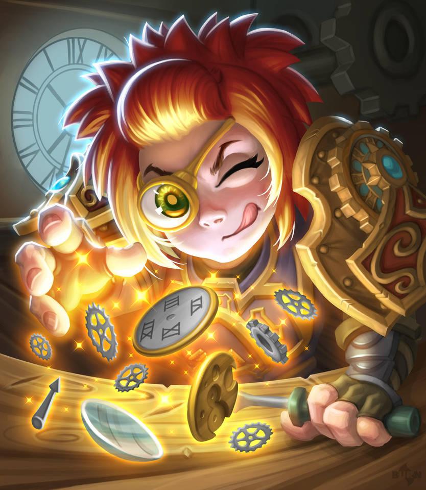 Toki, Time-Tinker by burncomics