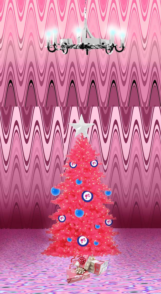 Barbie 's Christmas tree by Lady--knight ...