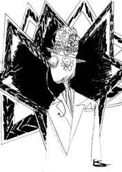 Inktober day 16: Angular by Lady--knight