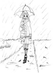 Inktober day 23: Muddy by Lady--knight