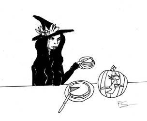 Inktober  day 31:Slice by Lady--knight
