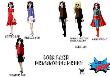Lois Lane character sheet by Lady--knight