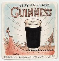 Coaster 28: Guinness by zpxlng