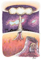Postcard 46: Nuke by zpxlng