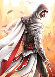 Ezio Auditore of the Brotherhood by Aziore
