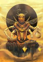 Famine, Celestial Harvest Fiend by Aziore