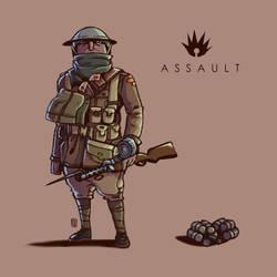A S S A U L T : B F 1 by DUST2196