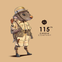 CDCHALLENGE Mouse Warrior  by DUST2196