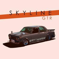 S K Y L I N E   :   GTR  by DUST2196