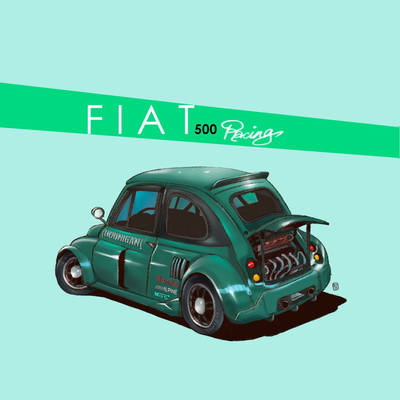 F I A T    500 by DUST2196