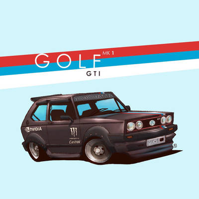 G O L F     GTI by DUST2196