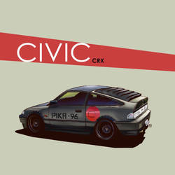 |  C I V I C   crx   | by DUST2196